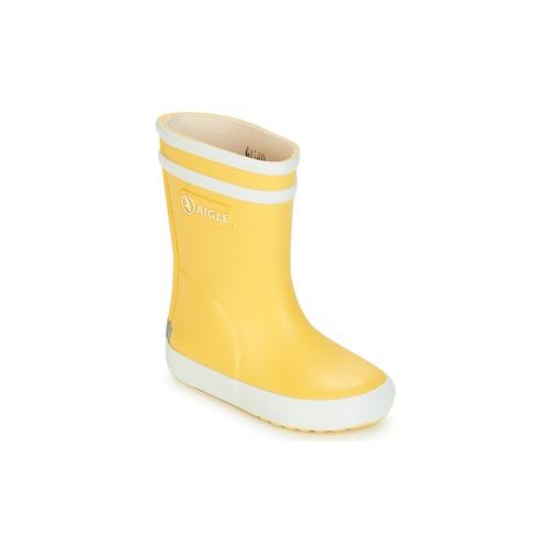 Obuća Djeca Gumene čizme Aigle BABY FLAC Žuta