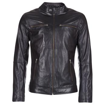 Odjeća Muškarci  Kožne i sintetičke jakne Casual Attitude IHEXO Crna