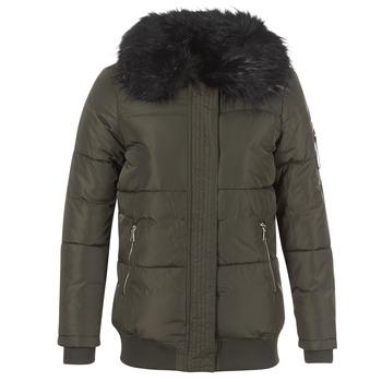 Odjeća Žene  Pernate jakne Moony Mood HIPATI Kaki / Crna