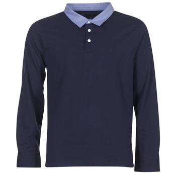 Odjeća Muškarci  Polo majice dugih rukava Casual Attitude IHEYA Blue