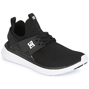 Obuća Muškarci  Niske tenisice DC Shoes MERIDIAN M SHOE BKW Crna