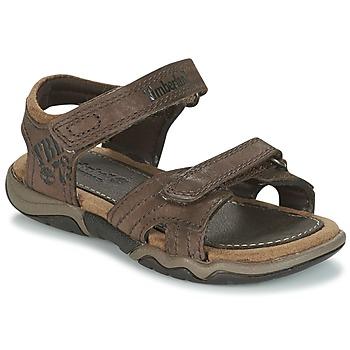 Obuća Djeca Sportske sandale Timberland OAK BLUFFS Smeđa