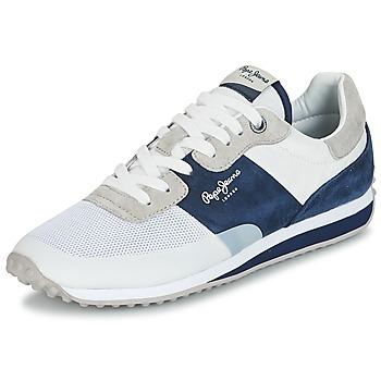 Obuća Muškarci  Niske tenisice Pepe jeans GARRET SAILOR Bijela / Blue