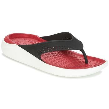 Obuća Japanke Crocs LITERIDE FLIP Crna / Red