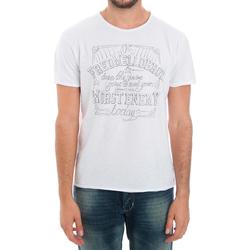 Odjeća Muškarci  Majice kratkih rukava Fred Mello FMCLA99TG_BIANCO Blanco