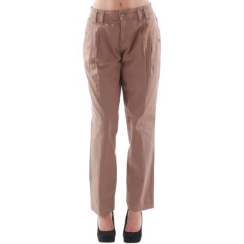 Odjeća Žene  Chino hlačei hlače mrkva kroja Fornarina FOR08024 Marrón