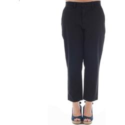 Odjeća Žene  Chino hlačei hlače mrkva kroja Gas GAS01164 Negro