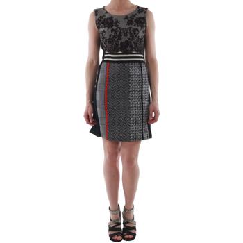 Odjeća Žene  Kratke haljine Rinascimento 82008_NERO Negro