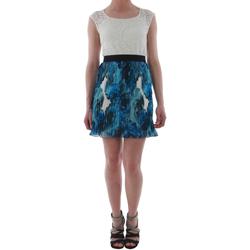 Odjeća Žene  Kratke haljine Rinascimento 1276/16M_BLU Blanco