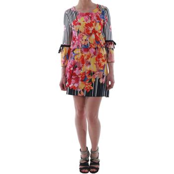 Odjeća Žene  Kratke haljine Rinascimento 1330/13A_BIANCO Estampado