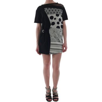 Odjeća Žene  Kratke haljine Rinascimento 82024_NERO Negro