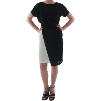 Odjeća Žene  Kratke haljine Rinascimento MIRANDA_BIANCO Negro