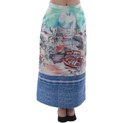 Odjeća Žene  Suknje Rinascimento 4004/16_CELESTE Estampado