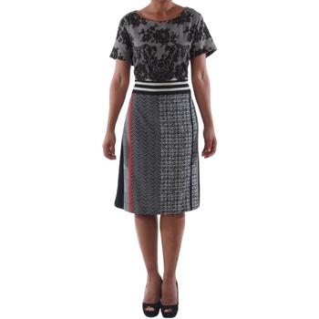 Odjeća Žene  Kratke haljine Rinascimento 9208/C_NERO Negro