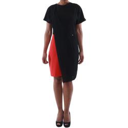 Odjeća Žene  Kratke haljine Rinascimento MIRANDA_ROSSO Negro