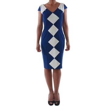 Odjeća Žene  Kratke haljine Rinascimento 241.012_BLU Azul