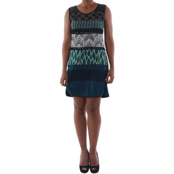 Odjeća Žene  Kratke haljine Rinascimento 82029_BLU Azul marino