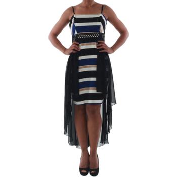 Odjeća Žene  Kratke haljine Rinascimento PAINT/R_BLU Negro