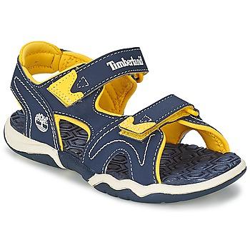 Obuća Djeca Sandale i polusandale Timberland ADVENTURE SEEKER 2-STRAP SANDAL Blue