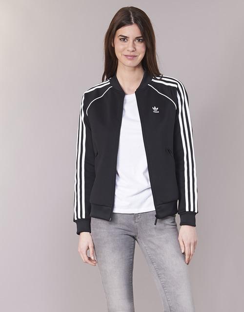 Odjeća Žene  Gornji dijelovi trenirke adidas Originals SST TT Crna