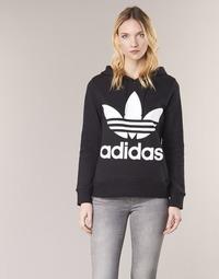 Odjeća Žene  Sportske majice adidas Originals TREFOIL HOODIE Crna
