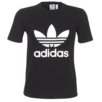 Odjeća Žene  Majice kratkih rukava adidas Originals TREFOIL TEE Crna
