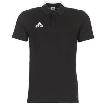 Odjeća Muškarci  Polo majice kratkih rukava adidas Performance CON18 CO POLO Black