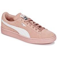 Obuća Žene  Niske tenisice Puma SUEDE CLASSIC W'S Ružičasta / Bijela