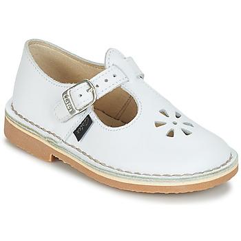 Obuća Djevojčica Balerinke i Mary Jane cipele Aster DINGO White