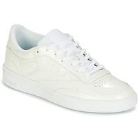 Obuća Žene  Niske tenisice Reebok Classic CLUB C 85 PATENT Bijela
