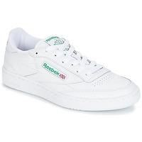 Obuća Niske tenisice Reebok Classic CLUB C 85 Bijela / Zelena