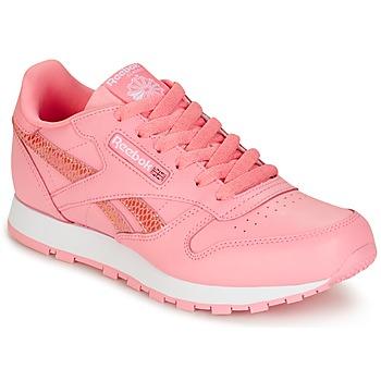 Obuća Djevojčica Niske tenisice Reebok Classic CLASSIC LEATHER SPRING Pink