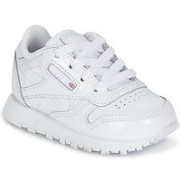 Obuća Djevojčica Niske tenisice Reebok Classic CLASSIC LEATHER PATENT Bijela