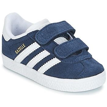 Obuća Dječak  Niske tenisice adidas Originals GAZELLE CF I Blue