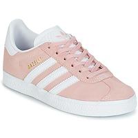 Obuća Djevojčica Niske tenisice adidas Originals GAZELLE C Ružičasta