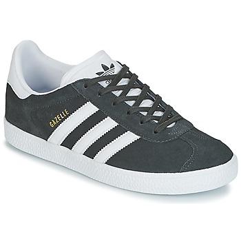 Obuća Djeca Niske tenisice adidas Originals GAZELLE J Siva