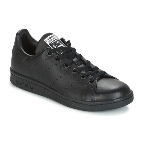 Obuća Djeca Niske tenisice adidas Originals STAN SMITH J Crna