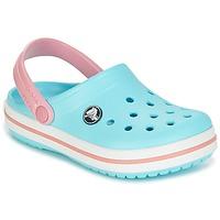 Obuća Djeca Klompe Crocs Crocband Clog Kids Blue / Ružičasta