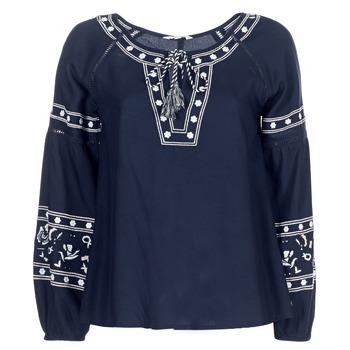 Odjeća Žene  Topovi i bluze Deeluxe BERTHA Blue