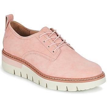 Obuća Žene  Derby cipele Caterpillar WINDUP Pink