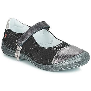 Obuća Djevojčica Balerinke i Mary Jane cipele GBB RIKA Crna / Srebrna