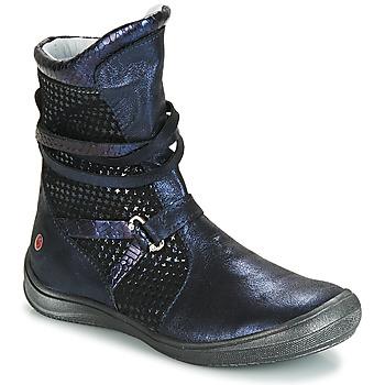 Obuća Djevojčica Čizme za grad GBB ROSANA Blue / Crna