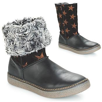 Obuća Djevojčica Čizme za grad GBB DUBROVNIK Black-copper / Dpf / Glen