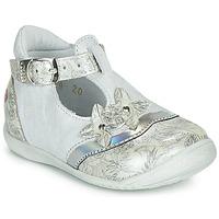 Obuća Djevojčica Balerinke i Mary Jane cipele GBB SELVINA Bijela / Srebrna