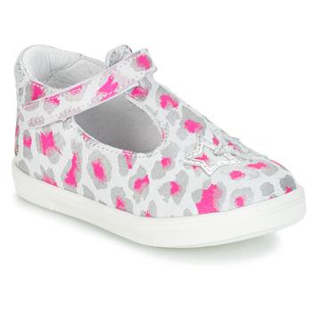 Obuća Djevojčica Balerinke i Mary Jane cipele GBB SABRINA Siva / Ružičasta / Bijela