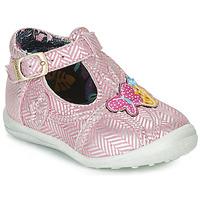 Obuća Djevojčica Balerinke i Mary Jane cipele Catimini SOLEIL Ružičasta