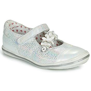 Obuća Djevojčica Balerinke i Mary Jane cipele Catimini STROPHAIRE Vte / Srebrna / Dpf / 2851