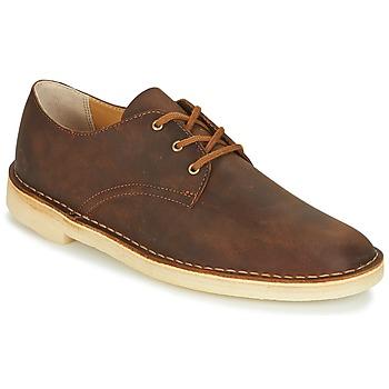 Obuća Muškarci  Derby cipele Clarks DESERT CROSBY Smeđa