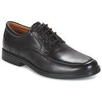 Obuća Muškarci  Derby cipele Clarks UN ALDRIC PARK Crna