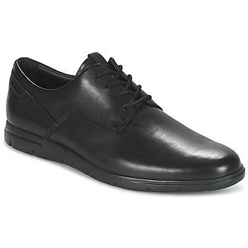 Obuća Muškarci  Derby cipele Clarks VENNOR WALK Crna